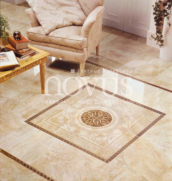 Дизайн керамической плитки на пол